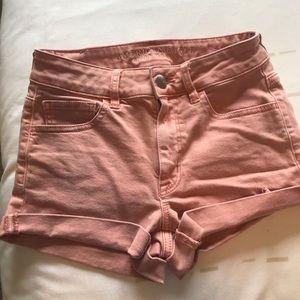 American Eagle hi-rise jean shorts